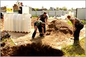 Почва для установки септика