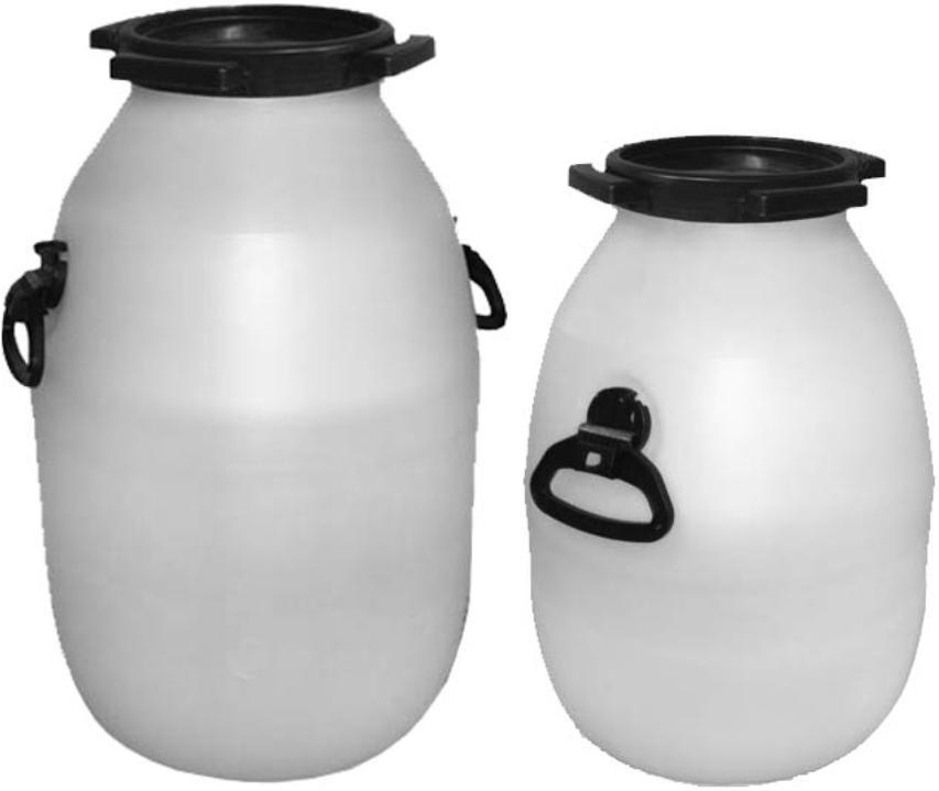 Бидоны для хранения питьевой воды, молока и других пищевых продуктов