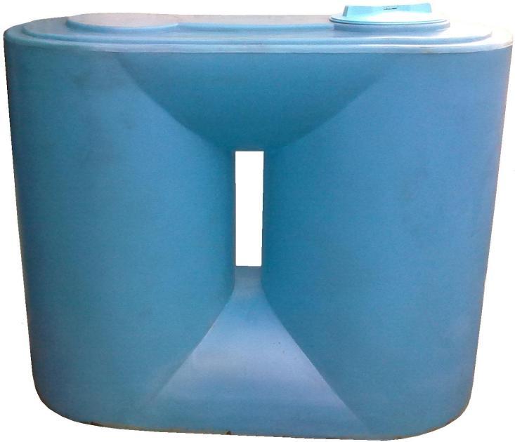 Прямоугольные баки для воды slim
